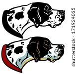 "insima's ""dog breeds black white"" set on Shutterstock"