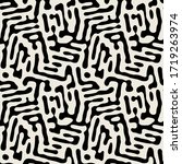vector seamless pattern. free... | Shutterstock .eps vector #1719263974