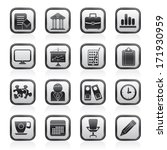 business and office icons  ... | Shutterstock .eps vector #171930959