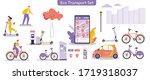 vector illustration of urban... | Shutterstock .eps vector #1719318037