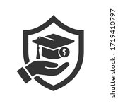 educations insurance icon... | Shutterstock .eps vector #1719410797