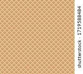 waffle cone seamless pattern  ...   Shutterstock . vector #1719588484