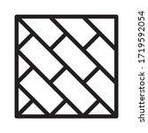 floor coverings  ceramics icon... | Shutterstock .eps vector #1719592054