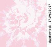 tie dye twist vector.... | Shutterstock .eps vector #1719635017