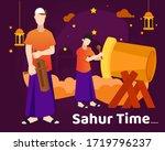 vector illustration people... | Shutterstock .eps vector #1719796237