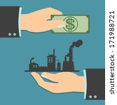 business trading  business...   Shutterstock .eps vector #171988721