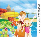 summer family | Shutterstock . vector #171998069