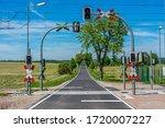 Railway Tracks With Level...