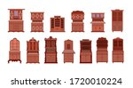 A Set Of Antique Cabinets....