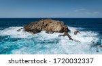 Rocks In The Surf In Menorca