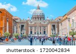 St. Peter's Square In Front Of...