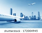 airplane | Shutterstock . vector #172004945
