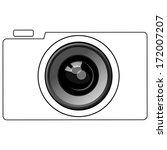 camera | Shutterstock .eps vector #172007207