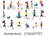 different multinational people... | Shutterstock .eps vector #1720107757