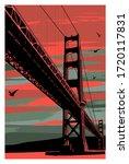 Golden Gate Bridge At Sunset ...