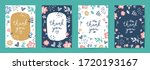 Thank You  Vector Cards Set Of...