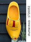 wooden shoe as decoration | Shutterstock . vector #1720352