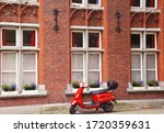 Bruges  Belgium  Europe July...