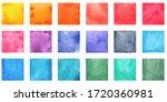 different watercolor texture... | Shutterstock . vector #1720360981