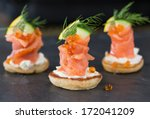 Blini With Smoked Salmon And...
