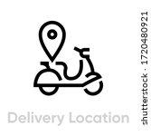 delivery location icon....