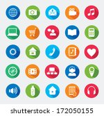 modern media design elements.... | Shutterstock .eps vector #172050155
