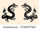 japanese red dragon tattoo...
