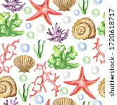 Seamless Pattern Depicting...