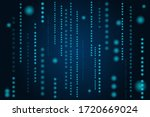 abstract technological... | Shutterstock .eps vector #1720669024