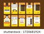 colorful bright app ui kit...