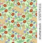 illustration seamless pattern... | Shutterstock .eps vector #1720714111