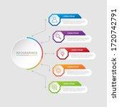 business data visualization ... | Shutterstock .eps vector #1720742791