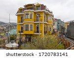 valparaiso  chile february 26 ... | Shutterstock . vector #1720783141