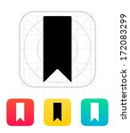 bookmark icon. vector...