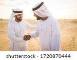 Arabian Men Witk Kandora...