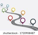 infographic design template...   Shutterstock . vector #1720908487