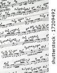music notation   Shutterstock . vector #17209492