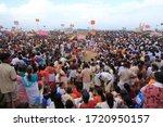 Varkala  India   Jul18  People...