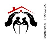 icons of care and support for... | Shutterstock .eps vector #1720963927