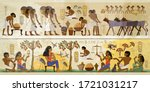 Life Of Egyptians. History Art. ...