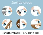 Infographics Of Sanitize...