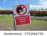 Please Do Not Feed The Horses...