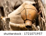 Rustic Handmade Clay Pot With...