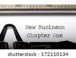 building a new business concept ... | Shutterstock . vector #172110134