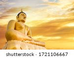 The Giant Golden Buddha. The...