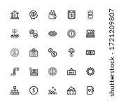 editable 25 dollar icons for...   Shutterstock .eps vector #1721209807