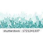 vector seamless border from... | Shutterstock .eps vector #1721241337