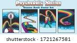 classic rock music psychedelic... | Shutterstock .eps vector #1721267581