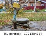Old Rusty Street Water...