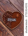 Decorative Coffee Heart On...
